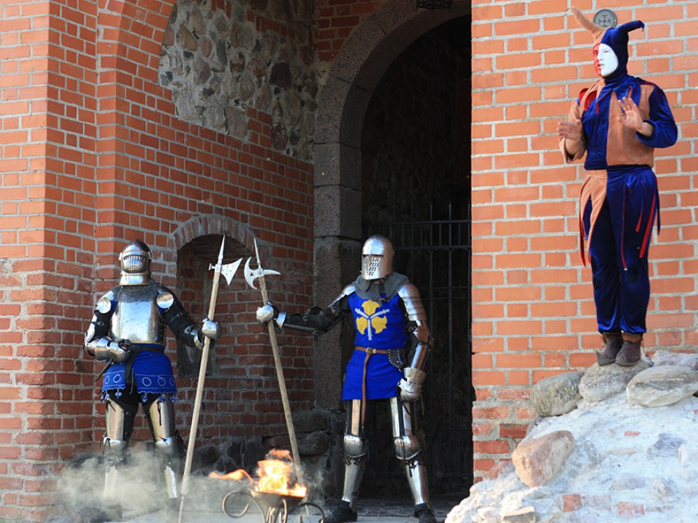 Medieval team-building in Trakai