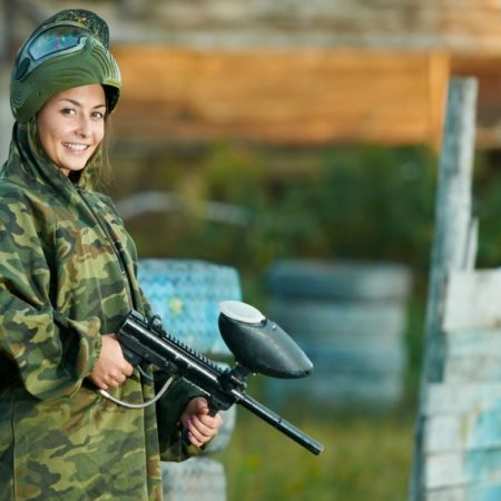 Outdoor paintball Vilnius