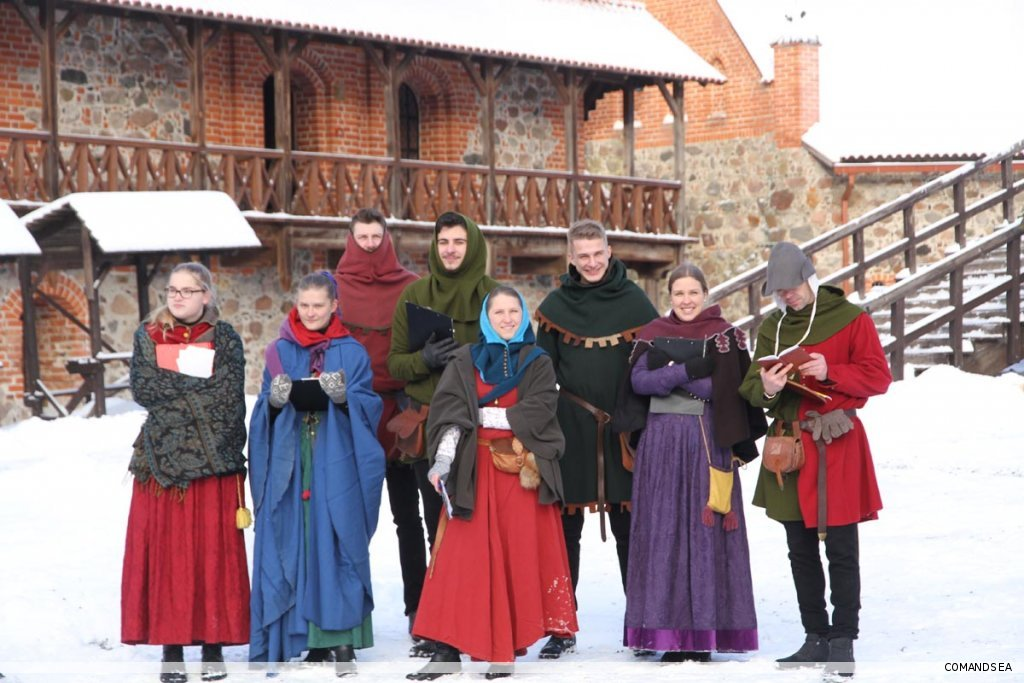 Medieval team-building Trakai